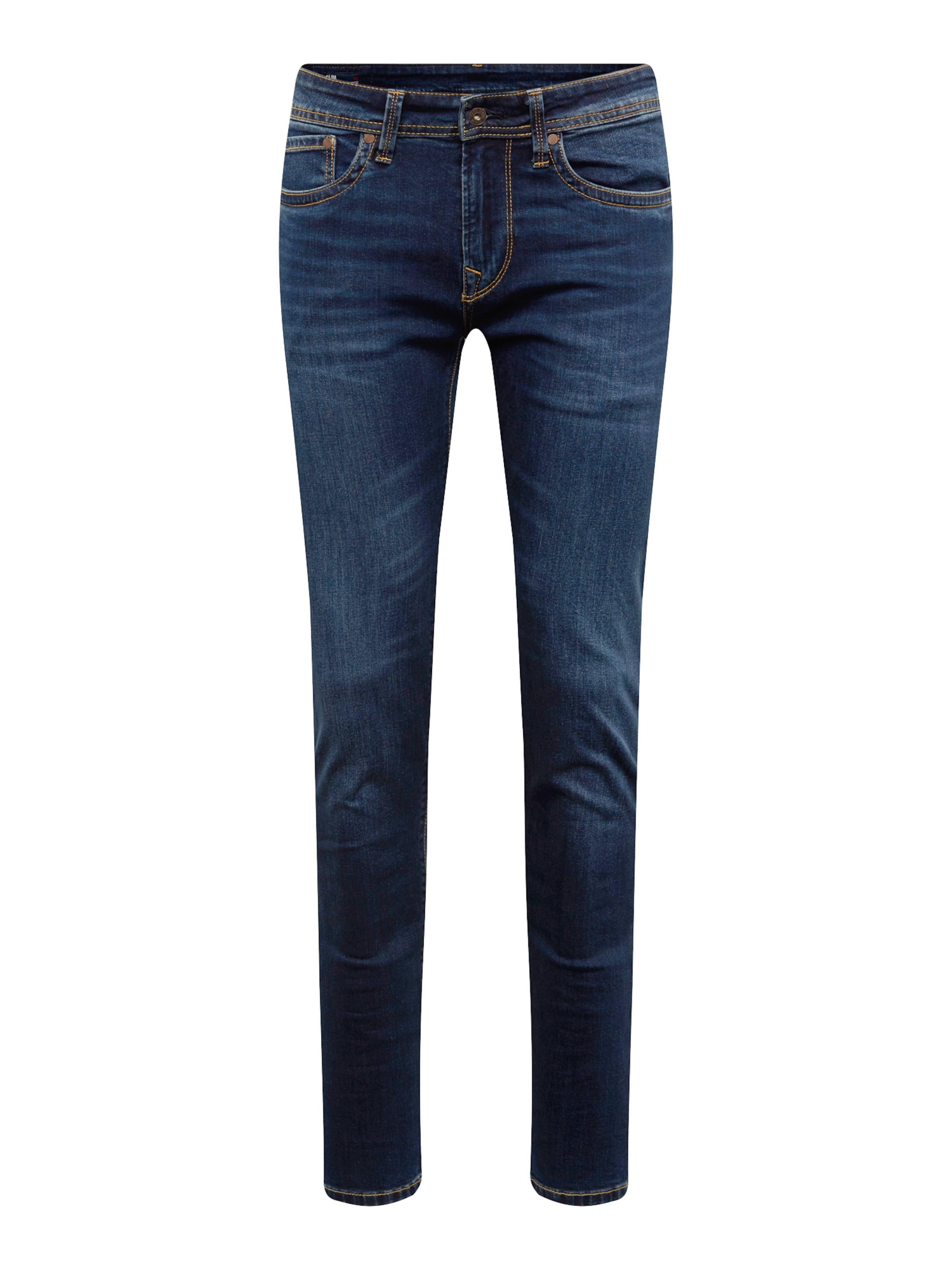 Jean Pepe 'hatch' En Bleu Denim Jeans R3AjL54