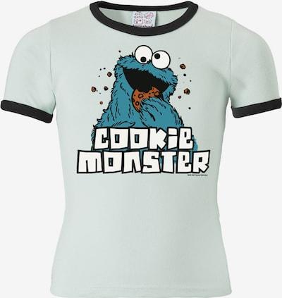 """LOGOSHIRT T-Shirt """"Krümelmonster"""" in hellblau, Produktansicht"""