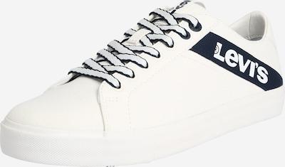 LEVI'S Sneaker 'WOODWARD L' in blau / weiß, Produktansicht