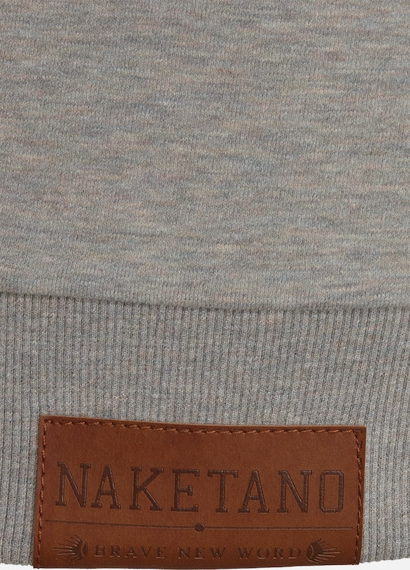 naketano Sweatshirt 'Küfürbaz AMK III'