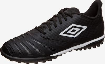 UMBRO Fußballschuh 'UX Accuro III Premier TF ' in schwarz / weiß, Produktansicht