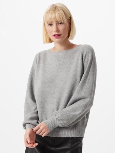 VERO MODA Pullover 'Brilliant' in grau, Modelansicht