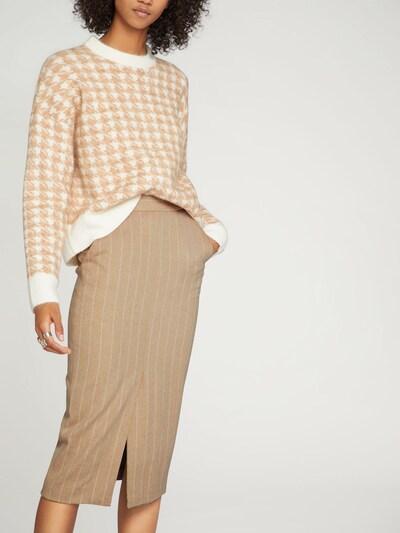 EDITED Spódnica 'Nova' w kolorze kremowy / białym: Widok z przodu