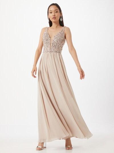 Unique Kleid in rosa, Modelansicht