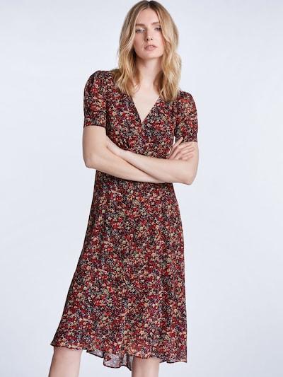 SET Letnia sukienka w kolorze mieszane kolory / czerwonym: Widok z przodu