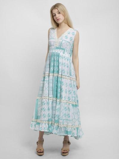 APART Sommerkleid in hellblau / weiß, Modelansicht