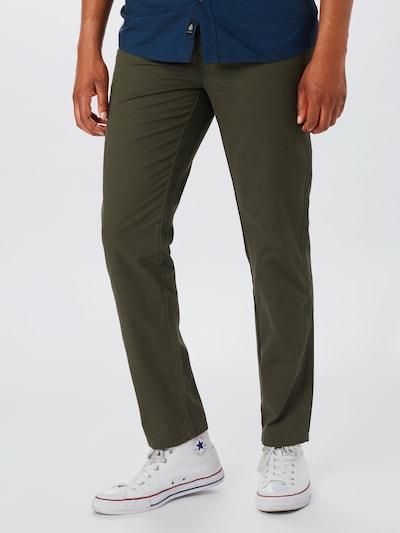 BURTON MENSWEAR LONDON Pantalon en kaki, Vue avec modèle