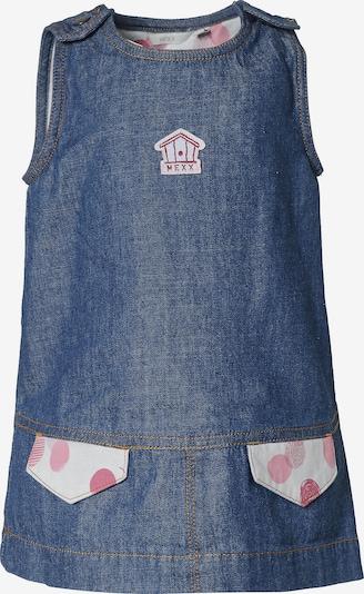 MEXX Jeanskleid in blue denim / rosa / weiß, Produktansicht