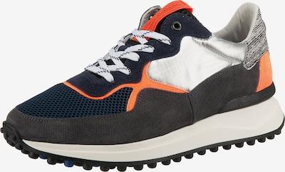 Floris van Bommel Sneaker 'Noppi' in blau / grau / orange, Produktansicht