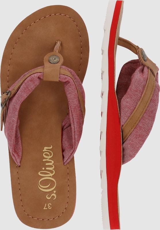 s.Oliver RED LABEL Zehentrenner Verschleißfeste billige Schuhe