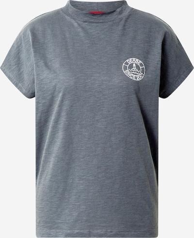 Tricou 'Elblotse' Derbe pe gri fum, Vizualizare produs