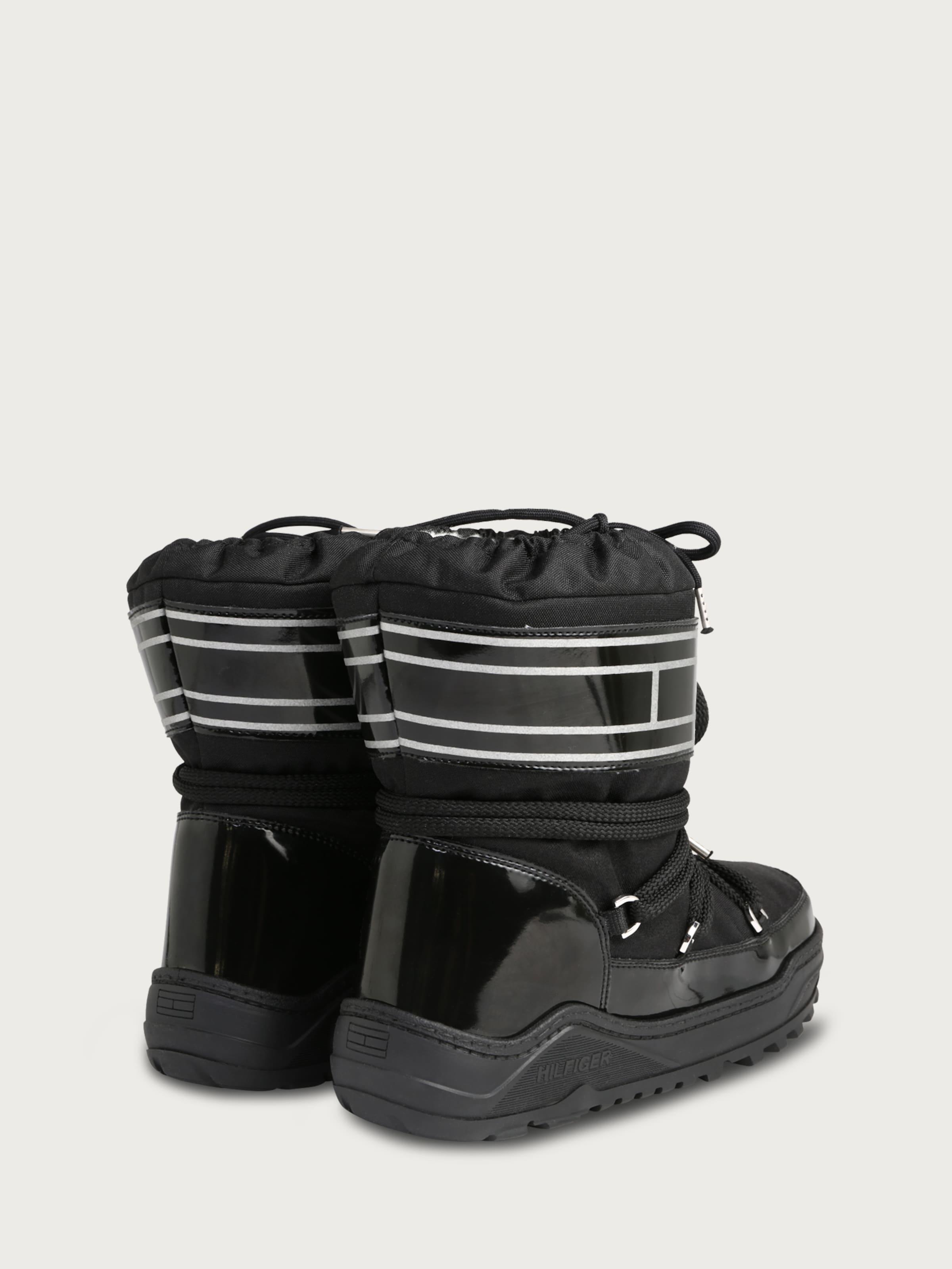 TOMMY HILFIGER Snow Boot im Glamour-Look Freies Verschiffen Extrem Auslasszwischenraum Store XFUWVZUQSu