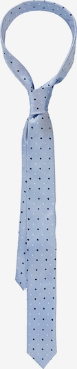 WEISE Krawatte in blau: Frontalansicht