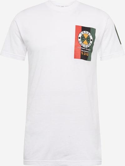 CROSS COLOURS T-Shirt 'Flag Logo' en blanc, Vue avec produit