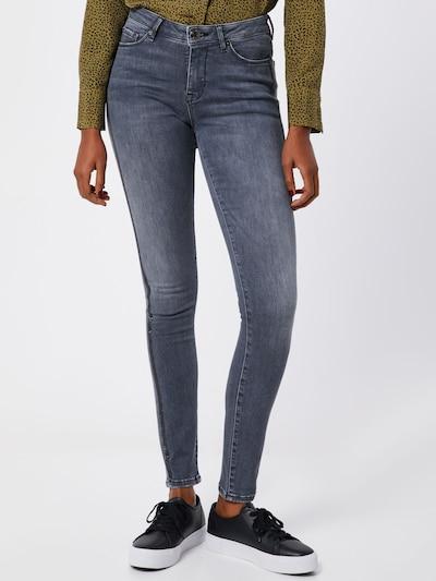 OPUS Jeans 'Elma' in grey denim / schwarz, Modelansicht