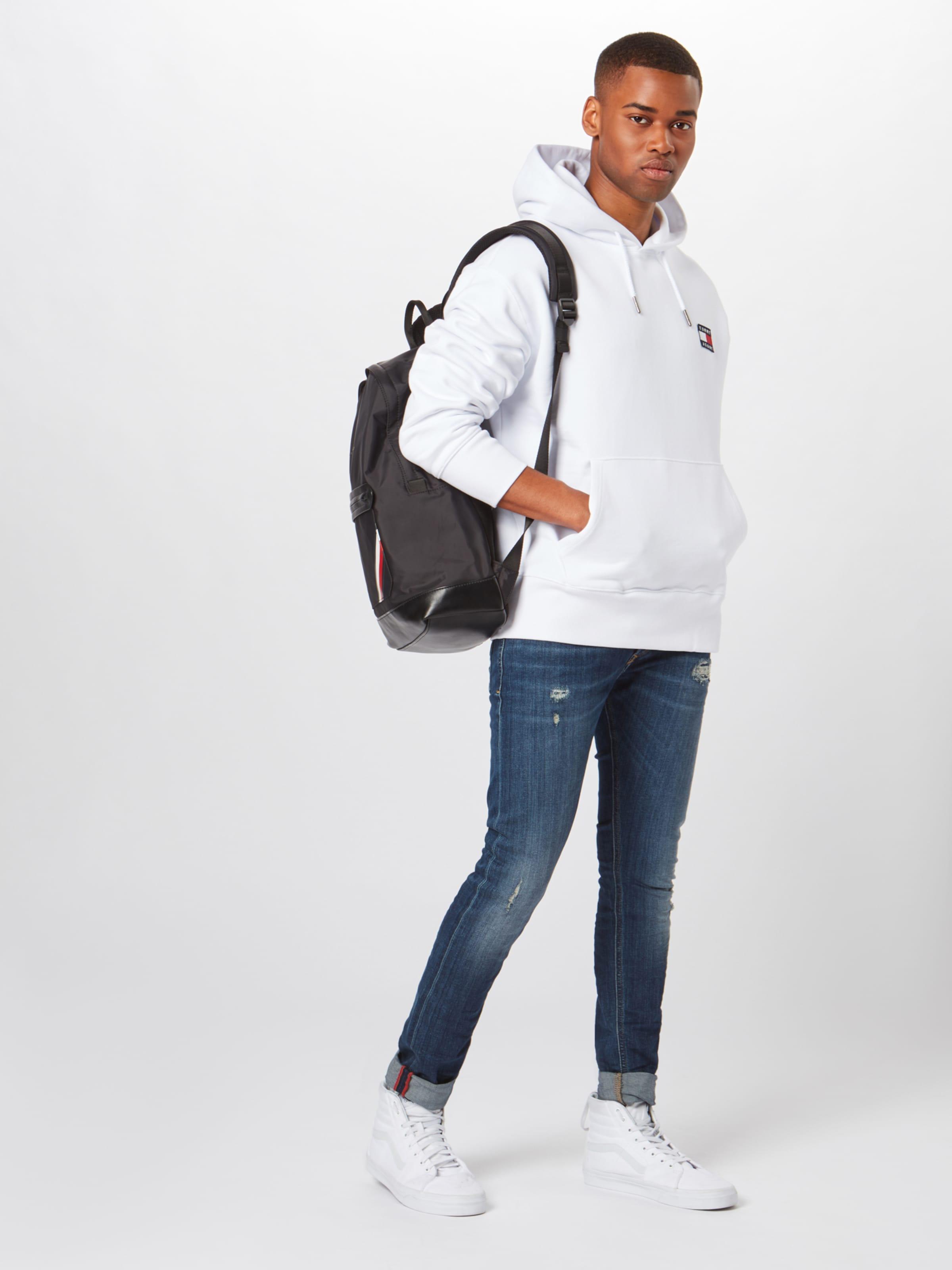 Tommy Tommy Sweatshirt Sweatshirt In Jeans Jeans Weiß 4jcS5RALq3
