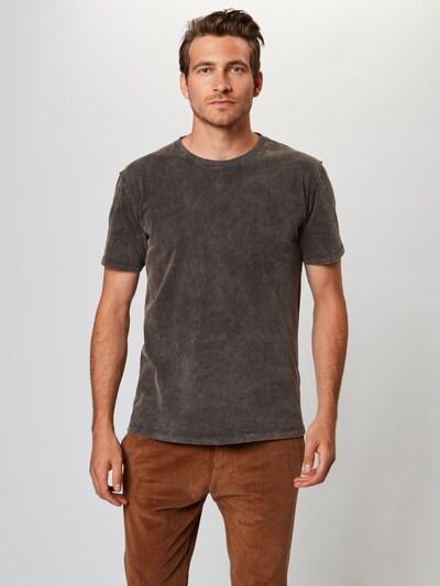 Tricou 'LIAS' DRYKORN pe gri închis: Privire frontală