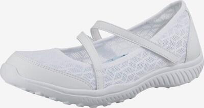 SKECHERS Ballerinas in weiß, Produktansicht