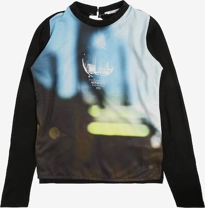 Petrol Industries Shirt in de kleur Blauw / Zwart, Productweergave