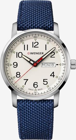 WENGER Uhr 'Attitude Heritage' in navy / silber, Produktansicht