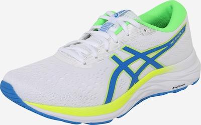 ASICS Chaussure de sport 'Gel-Excite 7' en bleu / jaune fluo / blanc, Vue avec produit