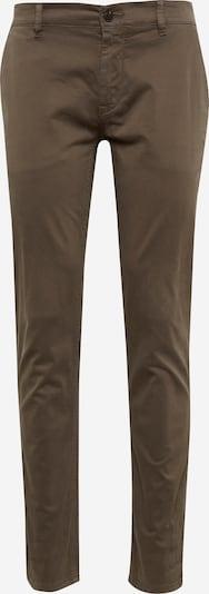 BOSS Pantalon chino 'Schino-Slim D' en moka, Vue avec produit