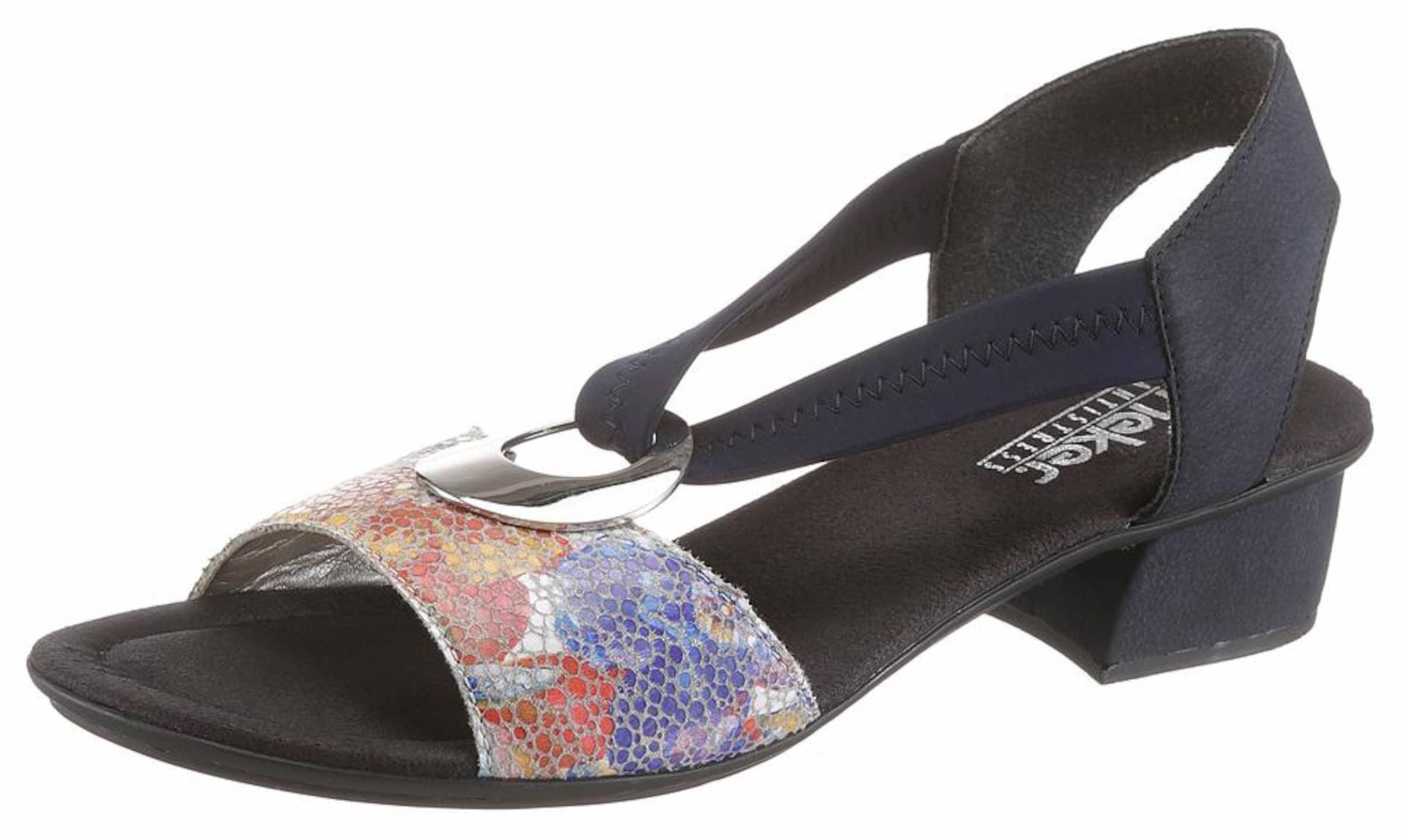 RIEKER Sandalette Verschleißfeste billige Schuhe Hohe Qualität