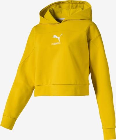 PUMA Sweatshirts 'NU-TILITY' in dunkelgelb, Produktansicht