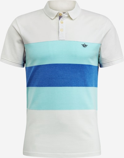 Dockers Shirt in de kleur Aqua / Wit, Productweergave