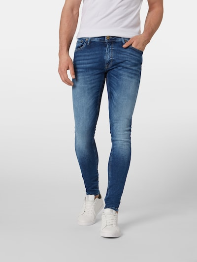 JACK & JONES Jeans 'TOM ORIGINAL JOS 510 50SPS NOOS' i blue denim, Modelvisning