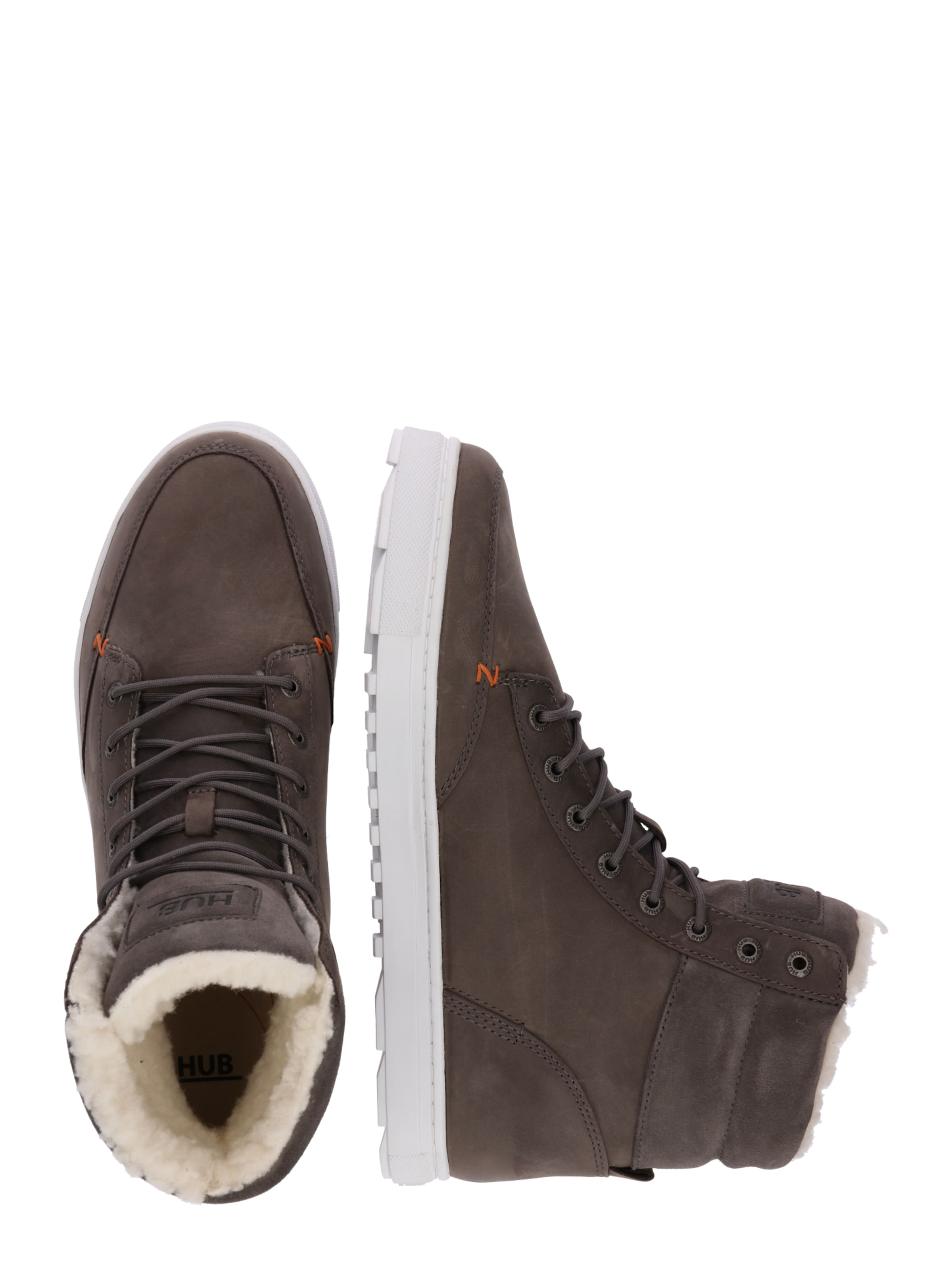 Hub Sneaker High In Kastanienbraun 'dublin' OkuiPZXT