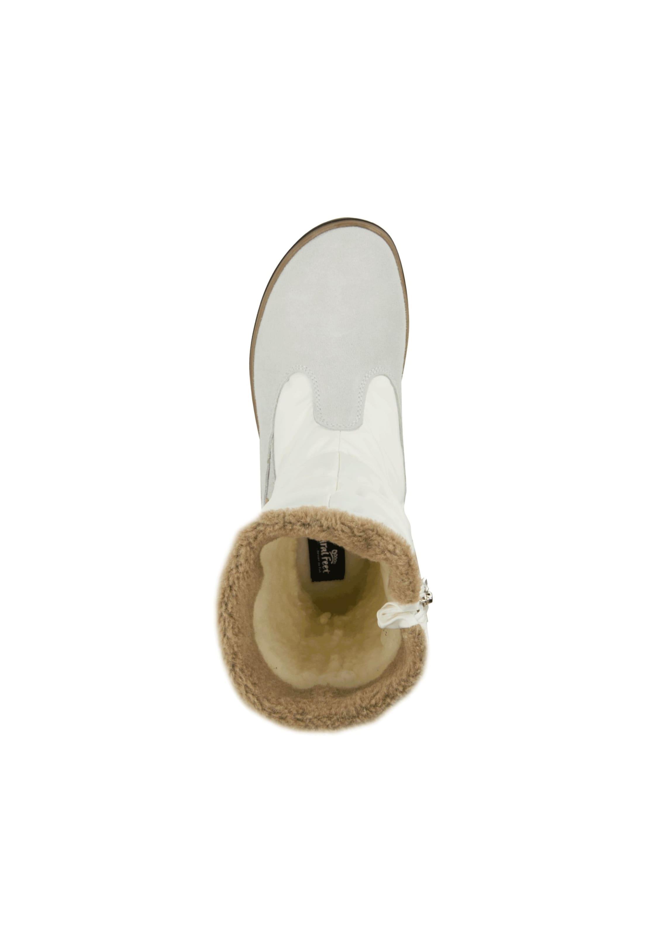 Winterstiefel 'aneira' Weiß EcruHellgrau Natural In Feet 5A34RLj