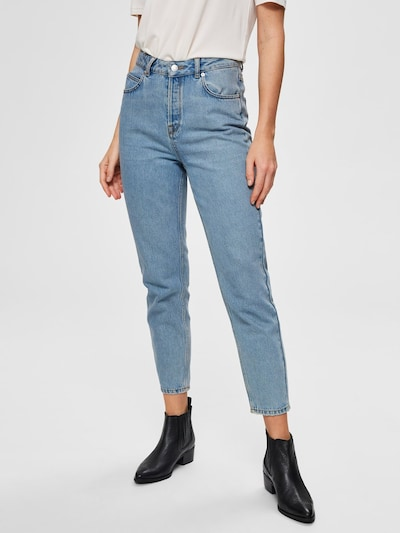 SELECTED FEMME Jeans in hellblau, Modelansicht