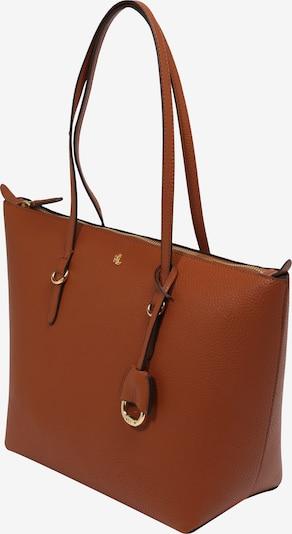 Lauren Ralph Lauren Shopper 'KEATON' en marrón / oro, Vista del producto