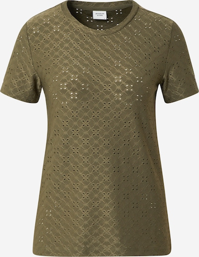 JACQUELINE de YONG Shirt 'CATHINKA' in de kleur Kaki: Vooraanzicht