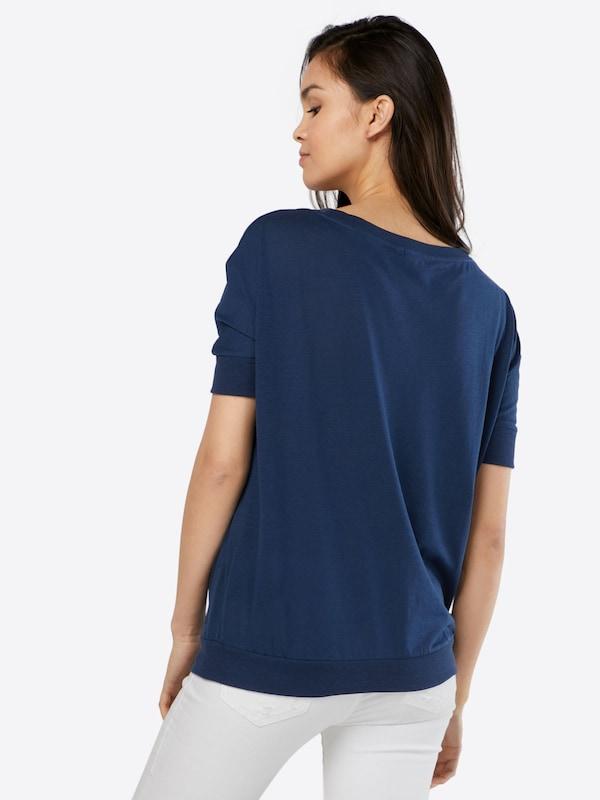 s.Oliver Denim V-Shape-Shirt mit Bündchen