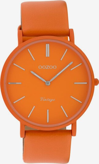 OOZOO Uhr 'C9886' in mandarine, Produktansicht