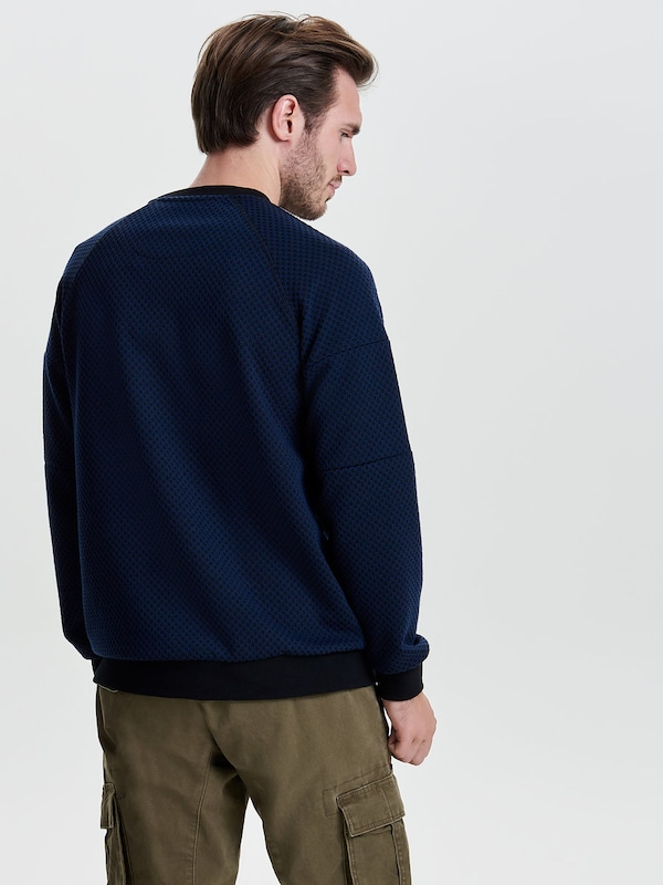 Only & Sons Detailliertes Sweatshirt
