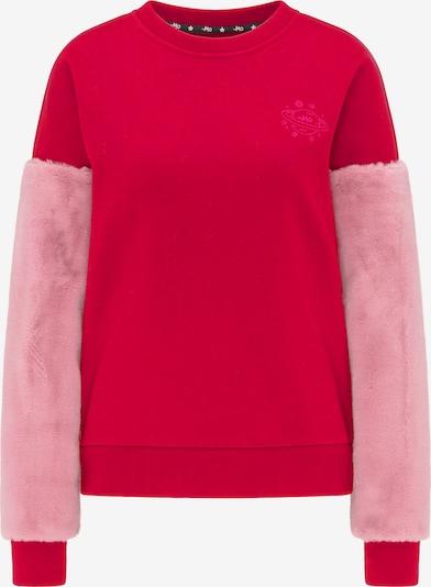 MYMO Sweatshirt in de kleur Rosa / Rood, Productweergave
