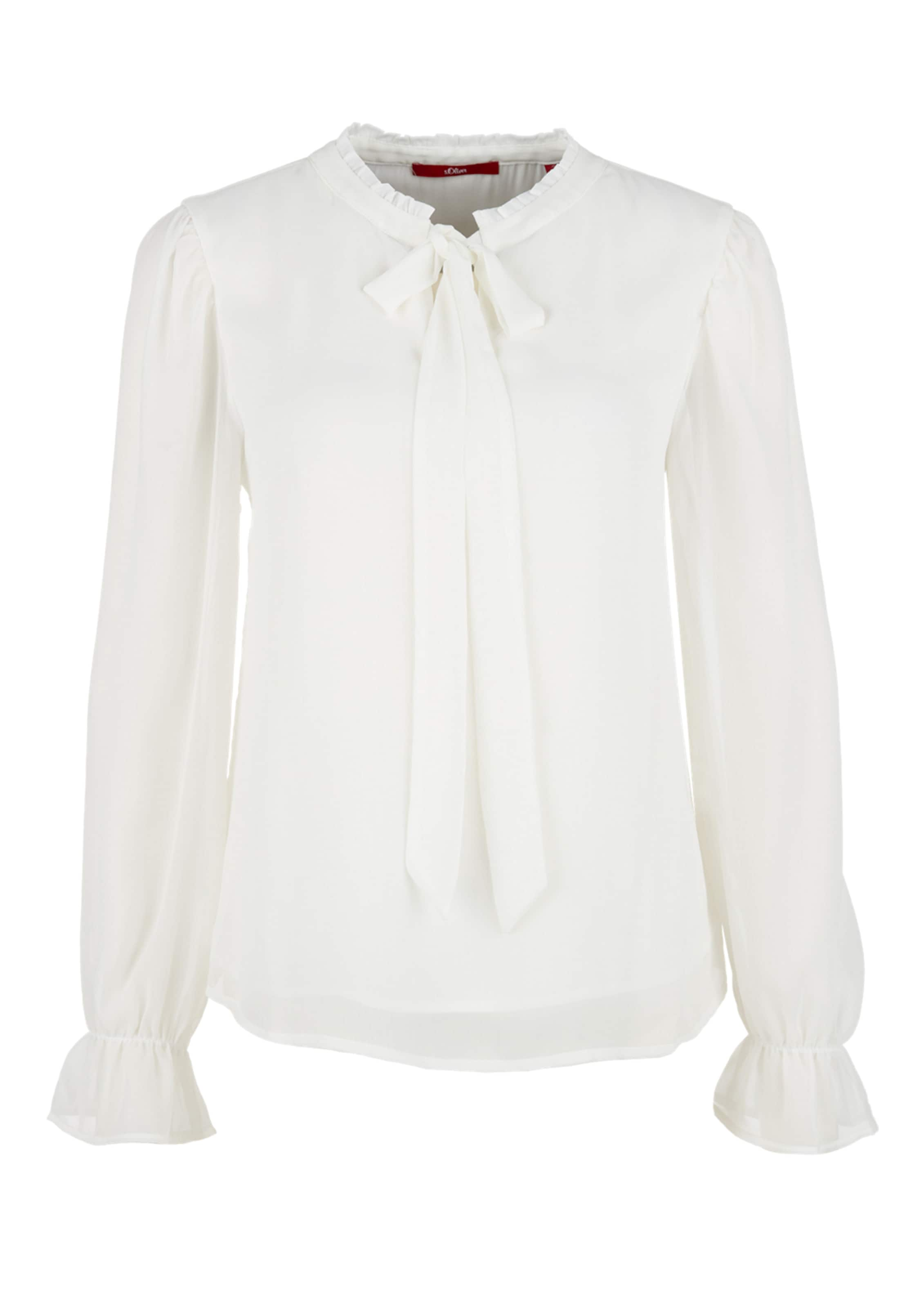 oliver Red Label In S Naturweiß Bluse xodWCeQrB