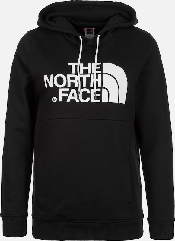 THE NORTH FACE Sportief sweatshirt 'Drew' in de kleur Zwart, Productweergave