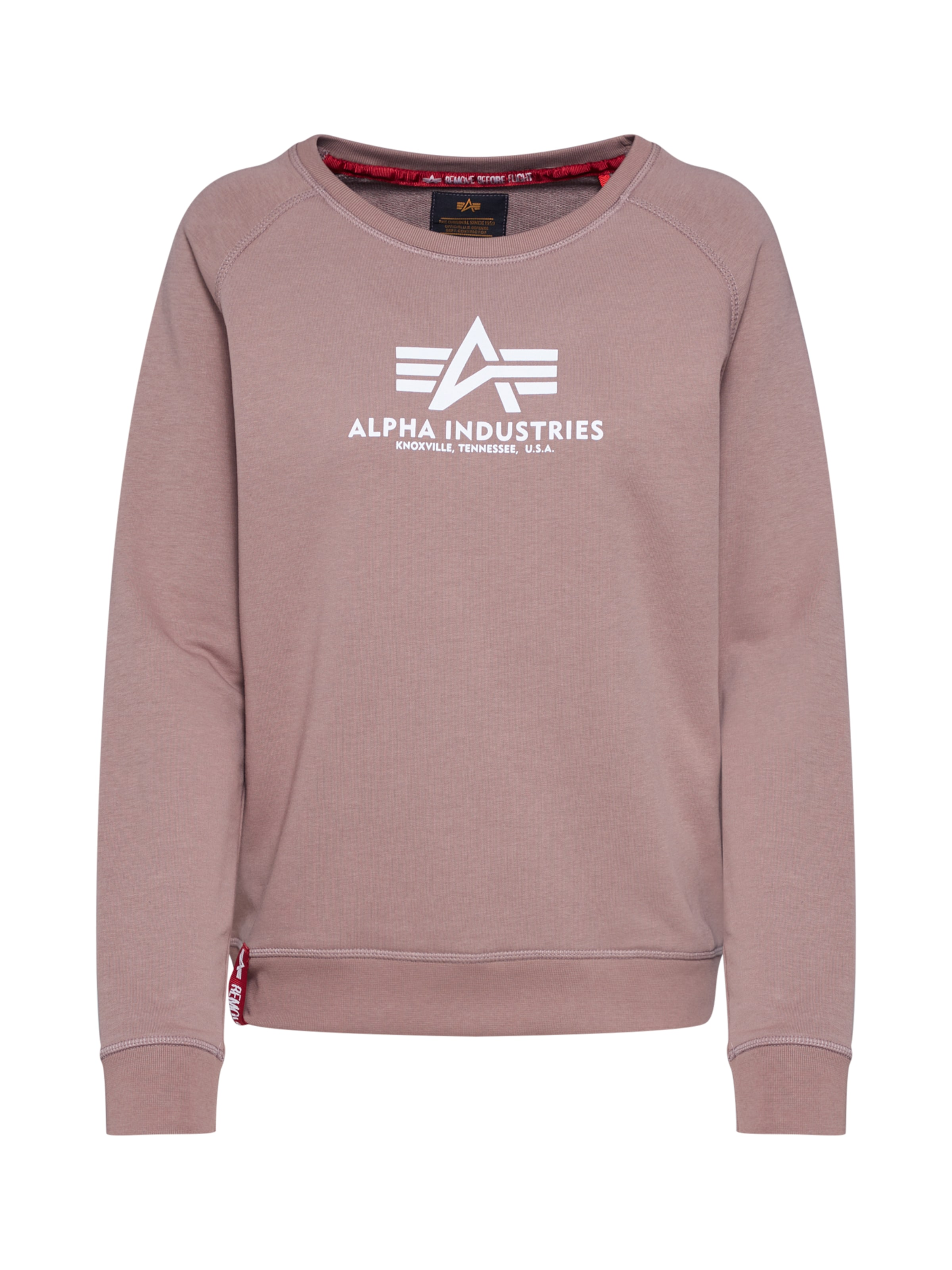In Alpha Industries Sweatshirt Industries Altrosa Alpha eE9IYDH2W