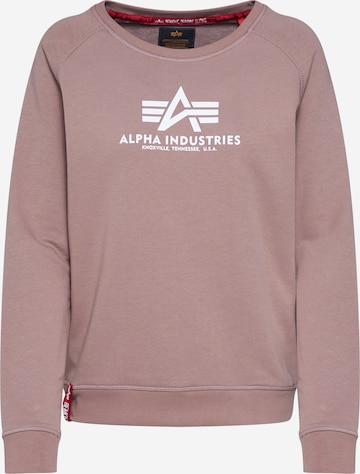 ALPHA INDUSTRIESSweater majica - roza boja