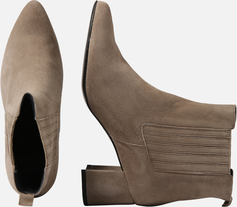 Apple Of Taupe Bottines En Eden 'carmen' 4LA5Rj