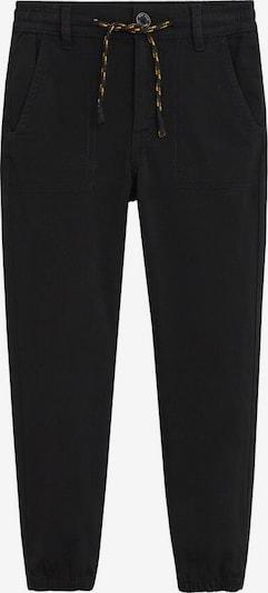 MANGO KIDS Spodnie w kolorze czarnym, Podgląd produktu