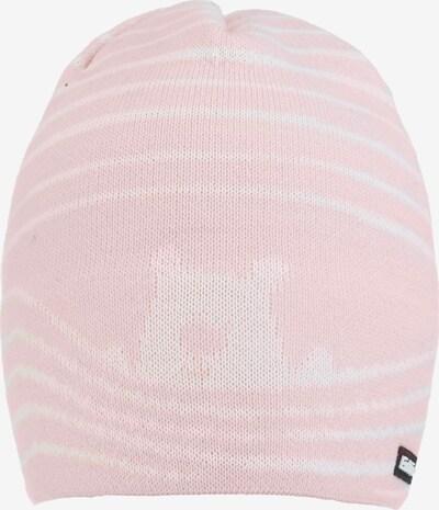 Eisbär Kindermütze in rosa / weiß, Produktansicht