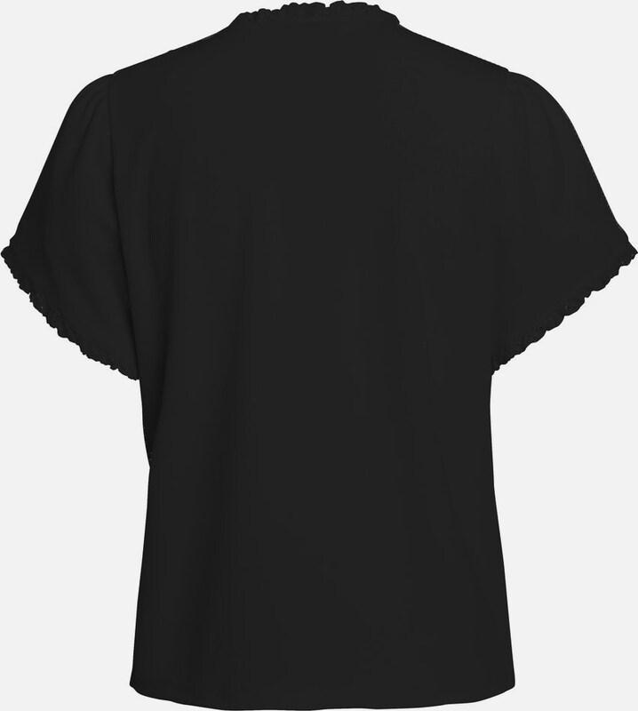 PIECES Rüschen-T-Shirt