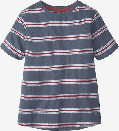 TOM TAILOR T-Shirt Gestreiftes T-Shirt in blau, Produktansicht
