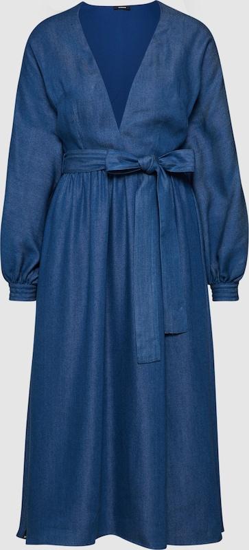 DENHAM Kleid in blau  Große Preissenkung