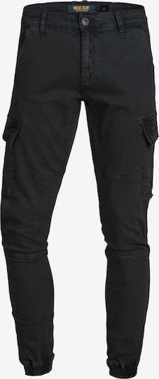 INDICODE JEANS Cargobroek 'August' in de kleur Zwart, Productweergave